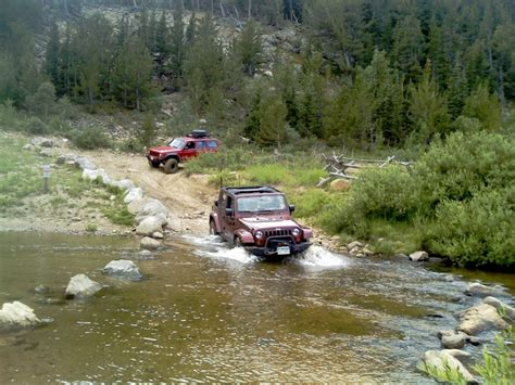 Jeep In River Jeep Cing Quotes