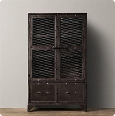 Ballard Designs Catalog Online aged steel cabinet