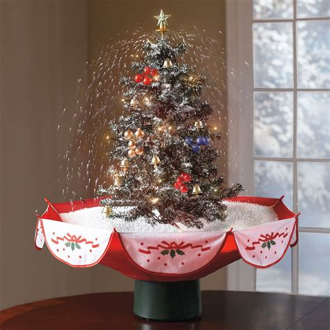 awesome tabletop christmas tree ideas  small spaces