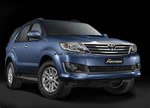 new car toyota fortuner new model toyota fortuner 2012 india price list pictures