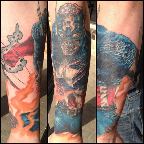 avengers tattoo sleeve 44 best arm images on marvel