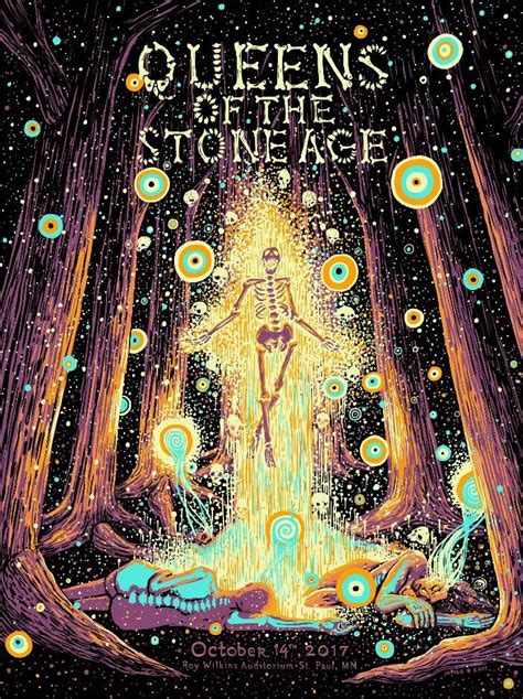 Plakat Queens Of The Stone Age by Queens Of The Stone Age James Eads 2017 Concert