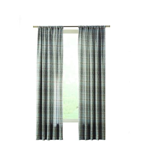 curtains at home depot home decorators collection aqua geo texture room darkening