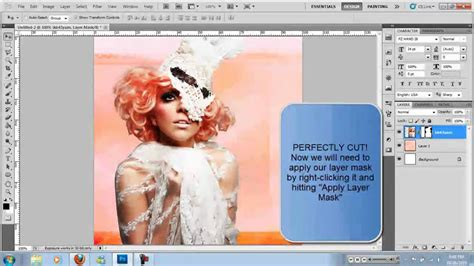 adobe photoshop hair tutorial cutting out complicated hair perfectly in adobe photoshop
