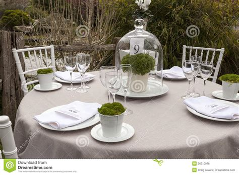 wedding table settings photos wedding table setting 9 stock photo image of table