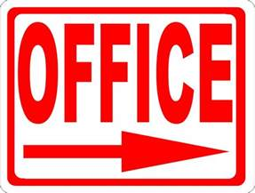 Office Sign In Office Sign With Directional Arrow Signs By Salagraphics