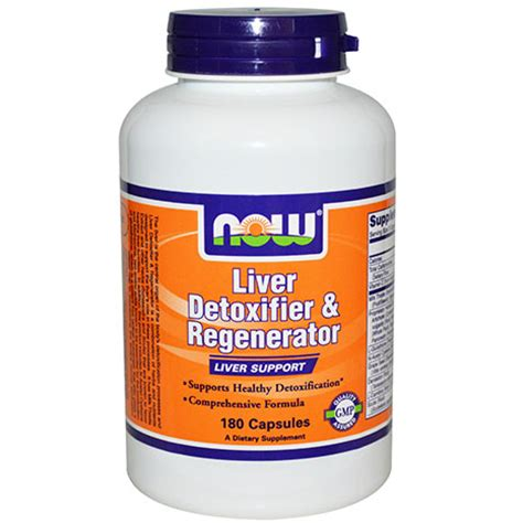 Now Liver Detox by Now Foods Liver Detoxifier And Regenerator 180 Caps