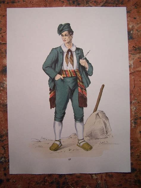 popolare puglise gorlich 1951 costume maschile di monte sant angelo puglia
