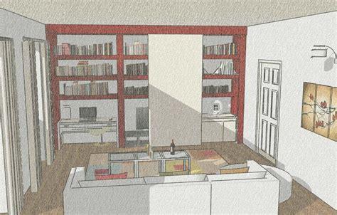 soggiorni studio lo studio nascosto all interno mobile cose di casa
