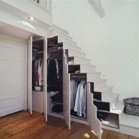 Stair Storage Closet by 17 Best Ideas About Wardrobe Storage On