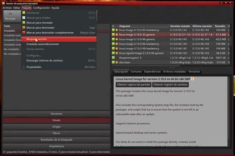 tutorial linux mint tutorial evitar actualizar un paquete programa en linux