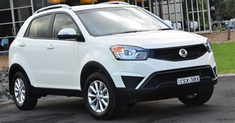 ssangyong korando 2016 ssangyong korando release date price and specs