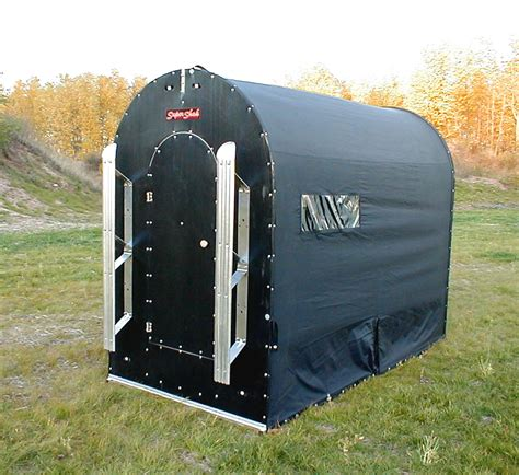 portable ice house homemade portable ice fishing shelters quotes