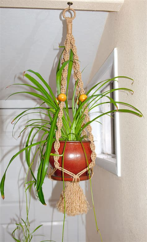Indoor Plant Hangers Macrame - macrame plant hanger for indoor outdoor by ludshandicrafts