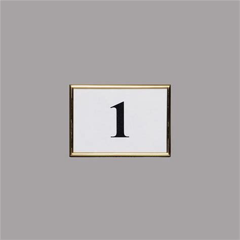 brass table number holders chicago and wedding rental products