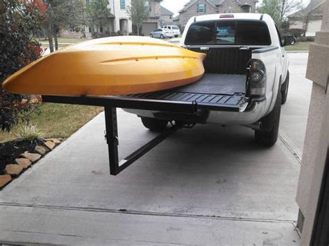truck bed kayak rack most effective way to haul a canoe or kayak no trailer