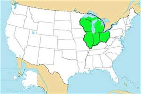 us map states great lakes usa geography quizzes map