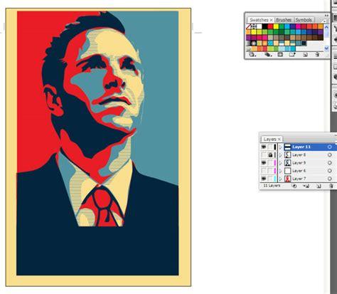 tutorial illustrator keren cara buat poster keren di adobe illustrator graphic