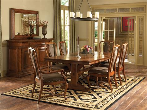 american drew dining room american drew european traditions leather splat side chair