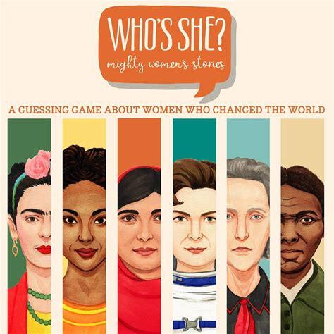preguntas aleatorias juego who s she el juego que ense 241 a sobre mujeres importantes
