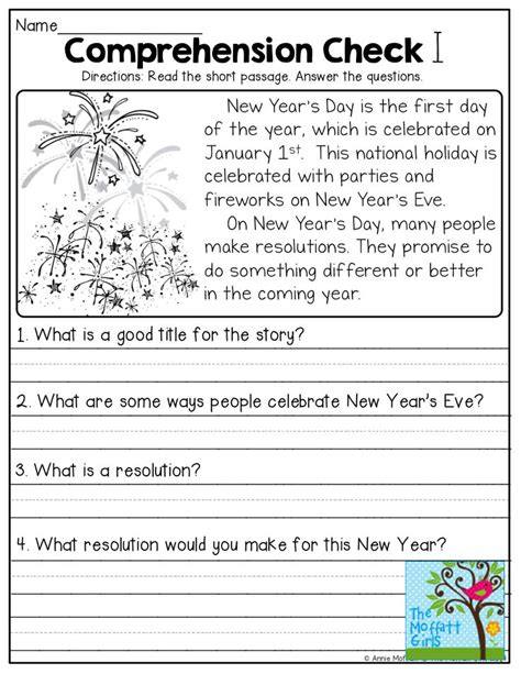 new year story primary reading exercises for grade 1 pdf test lessons in