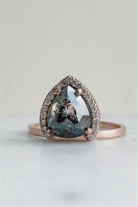 unique engagement rings  rose gold   perfect