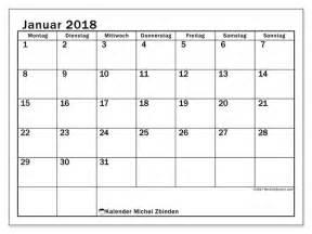 Januar 2018 Kalender Kalender Zum Ausdrucken Januar 2018 Schweiz