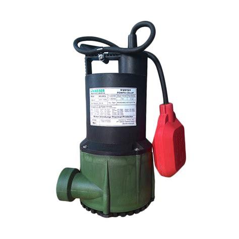 Mesin Pompa Celup Sirkulasi Kolam Ikan Air Bersih Leader Ecosub 410 A jual wasser wd 200 ea pompa celup harga kualitas terjamin blibli