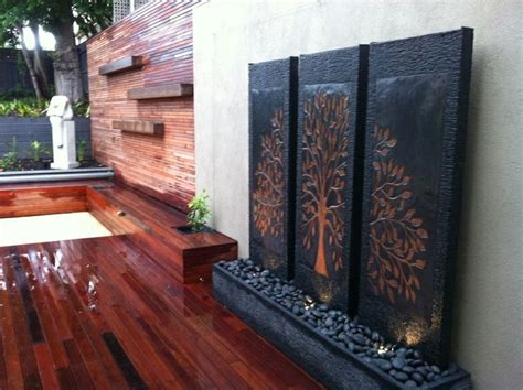 1000 ideas about wall water features on wall