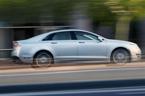 2013 lincoln mkz side view silver 2013 lincoln mkz hybrid first drive automobile magazine
