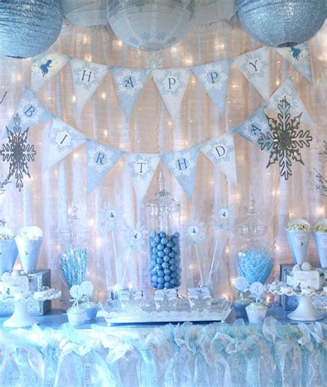 frozen decorations ideas frozen birthday ideas pink lover