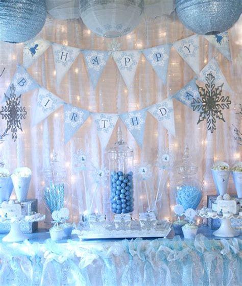 frozen birthday party ideas pink lover