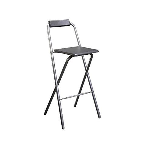 chaise de bar pliante chaise de bar pliante louna gris tabouret bar fr