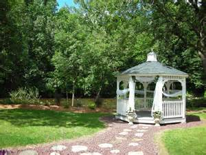 Backyard Wedding Gazebo The Gazebo Bello Giorno Catering
