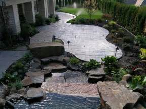 Cement Backyard Ideas Booming Outdoor Living Trend Leads To Quot Concrete Ideas Quot