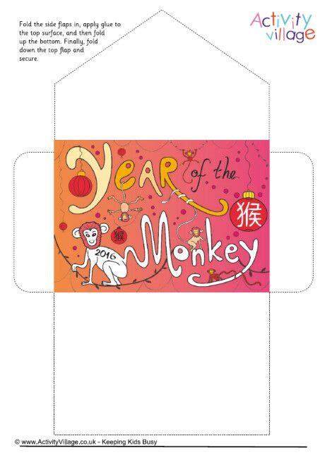 new year envelope monkey 96 best images about new year on