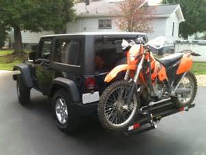 Dirt Bike Rack For Jeep by Dual Hitch For Bikes And Cargo Carrier Jeep Wrangler Forum