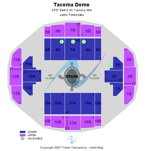 tacoma dome seating view cheap tacoma dome tickets