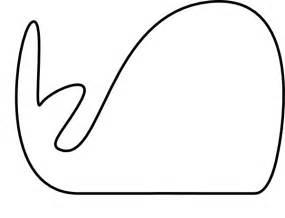 whale template preschool outline whale clip at clker vector clip
