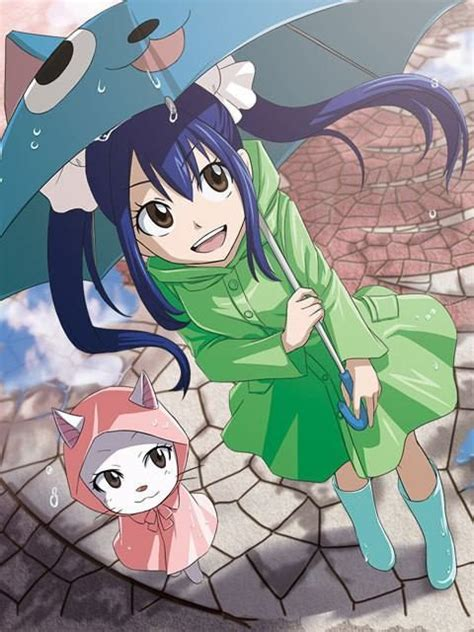 Anime Fairy Tail Wendy Wendy Marvell Carla Fairy Tail Anime Fairy Tail