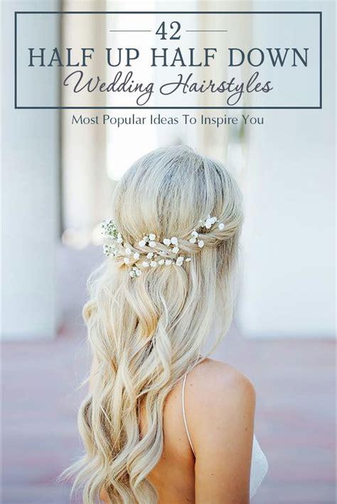 best 25 half up wedding hair ideas on bridal hair half up bridesmaid hair half up