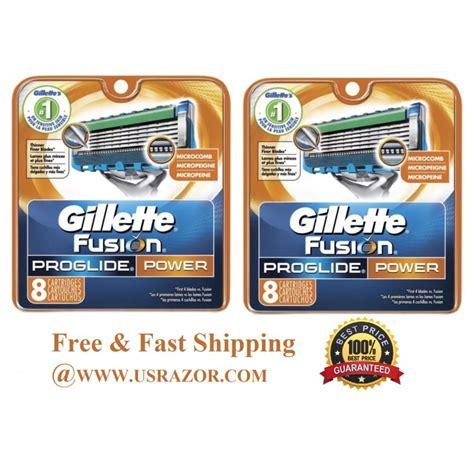 Silet Gillette Proffesional Tajam 13 16 gillette fusion proglide power razor blades refill