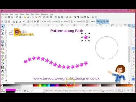 inkscape tutorial pattern along path 1000 images about inkscape on pinterest editor texts