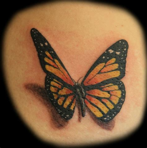 realistic butterfly tattoo great realistic butterfly tattooimages biz