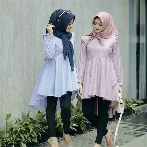 features baju original tunik tunic cotton salur baju