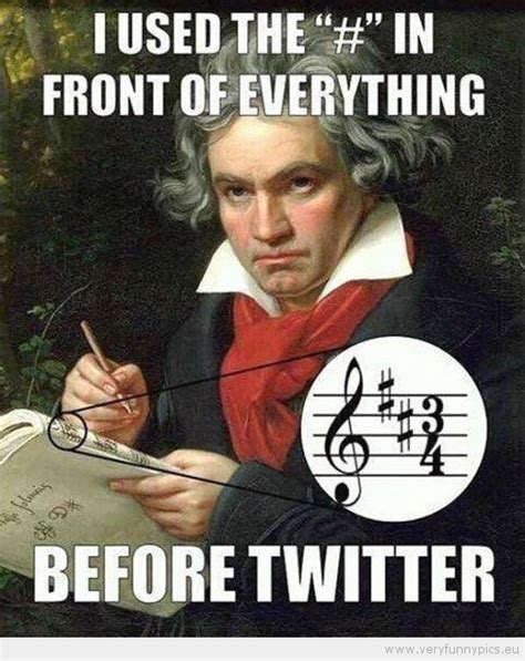 Beethoven Meme - beethoven the original hipster very funny pics
