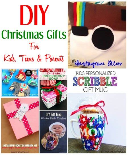 diy christmas gift ideas for kids teens parents kidpep