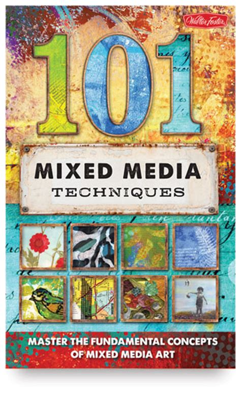 media analysis techniques books 101 mixed media techniques blick materials