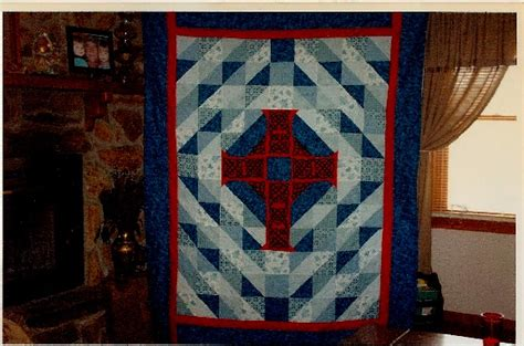 Celtic Cross Quilt Pattern by Celtic Cross Quilts And Quilting Quilt