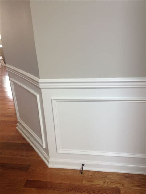 Wainscoting Chair Rail by Best 25 Chair Rail Molding Ideas On Diy Crown
